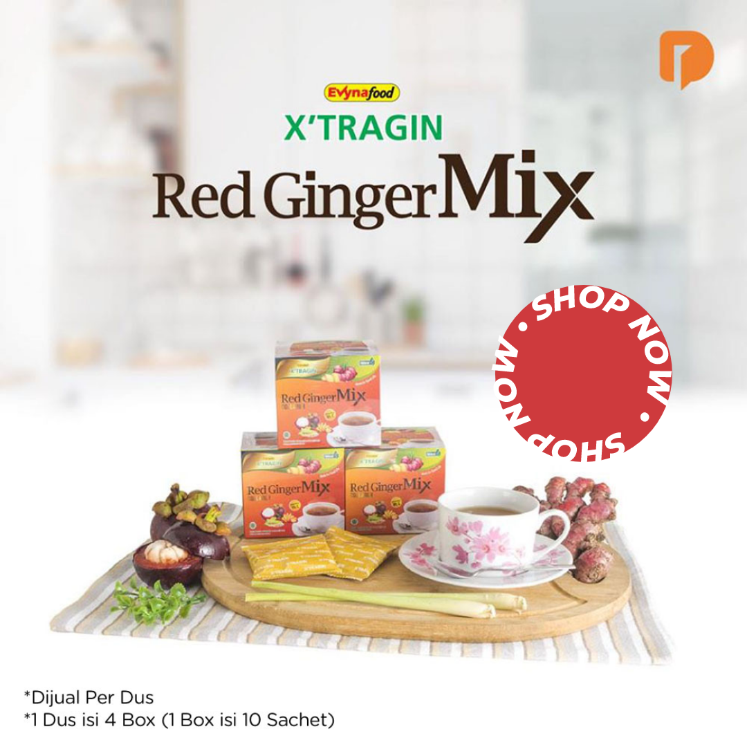 Minuman Herbal Xtragin Jahe Merah Mix