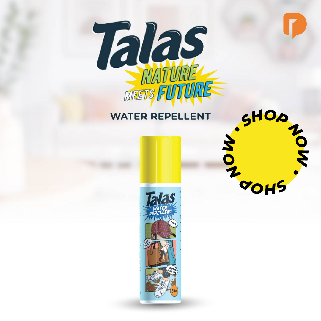 Disinfektan Talas Water Repellent Spray Anti Air dan Noda