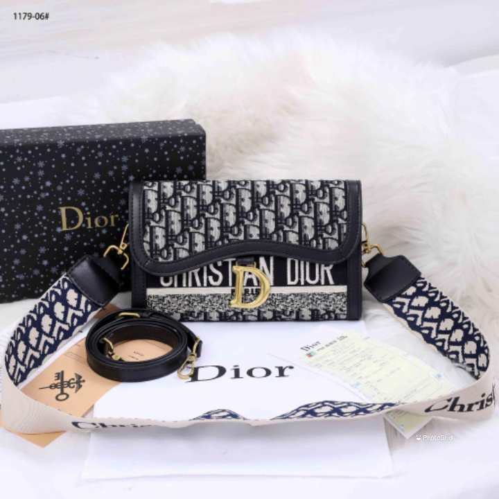 Christian Dior Sling Two Compartment bag #1179-06
