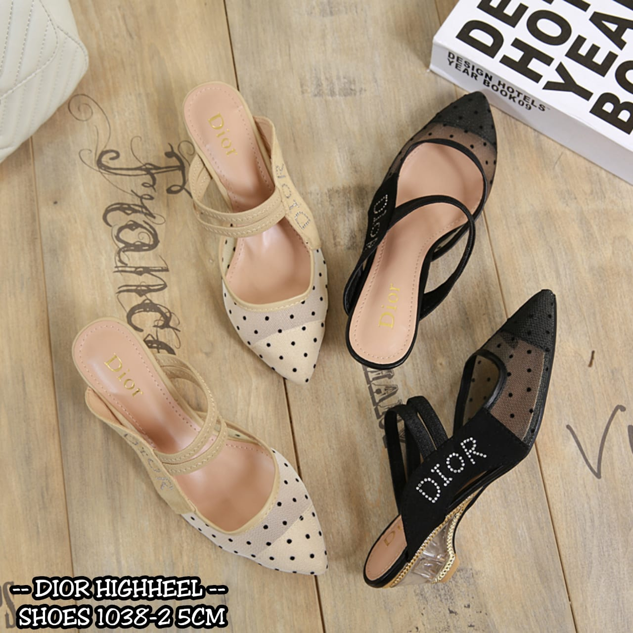 DIOR HIGHHEEL SHOES 1038-2