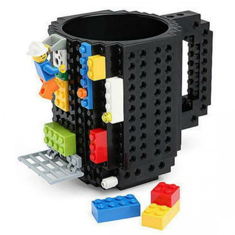 Gelas Mug Lego Build-on Brick - 936SN