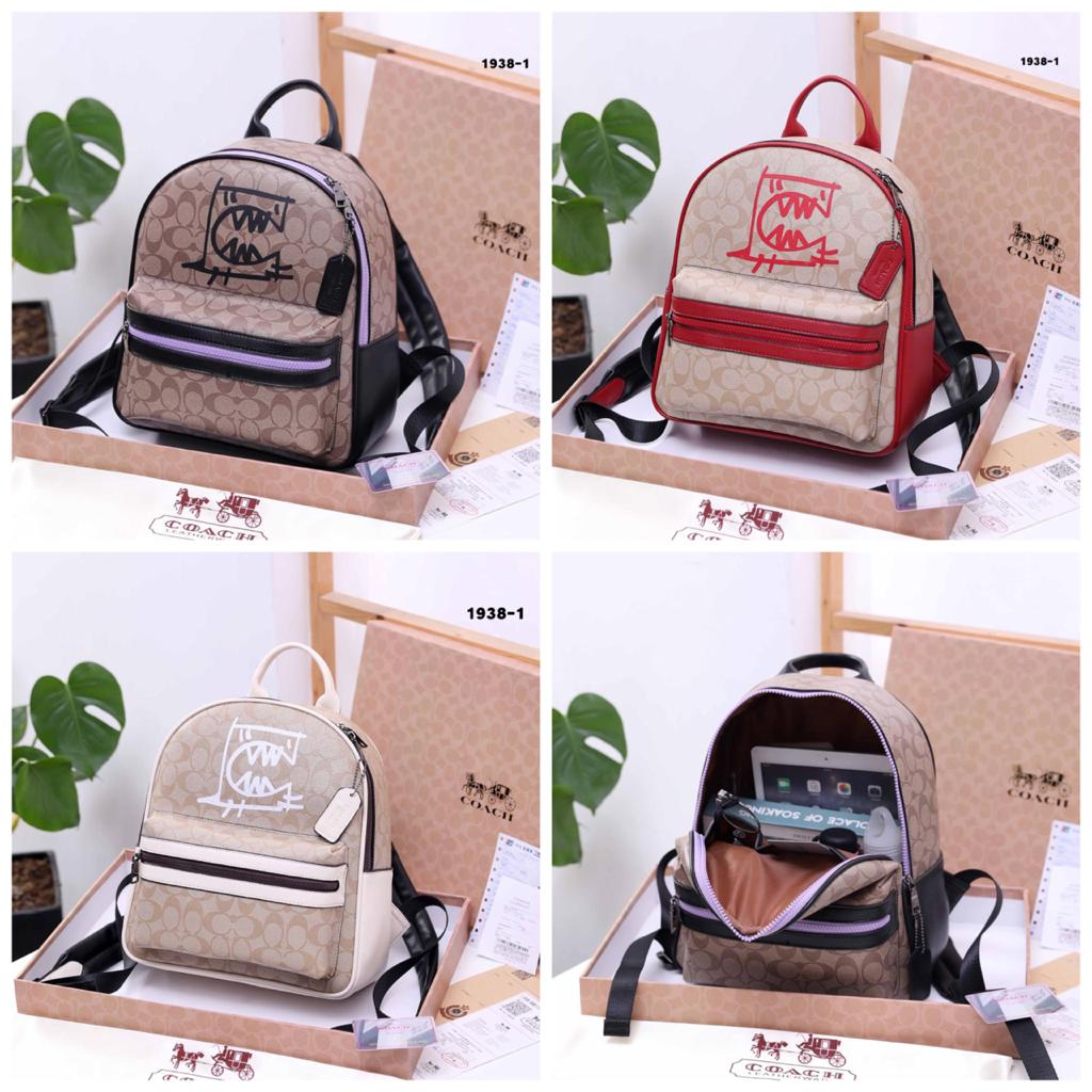 Limited Edition 😍 Backpack CCh signature canvas 1938-1 # Ada Serial Number