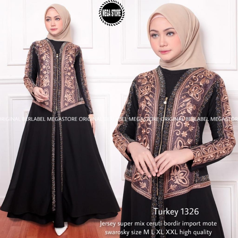 Gamis TURKEY ORIGINAL BERLABEL MEGA STORE 215