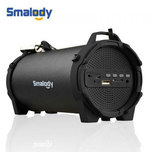 Smalody Outdoor Portable Bluetooth Speaker Boombox with Strap - SL-10S