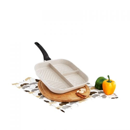 Cucina Square 3 in 1 Grill Frying Pan