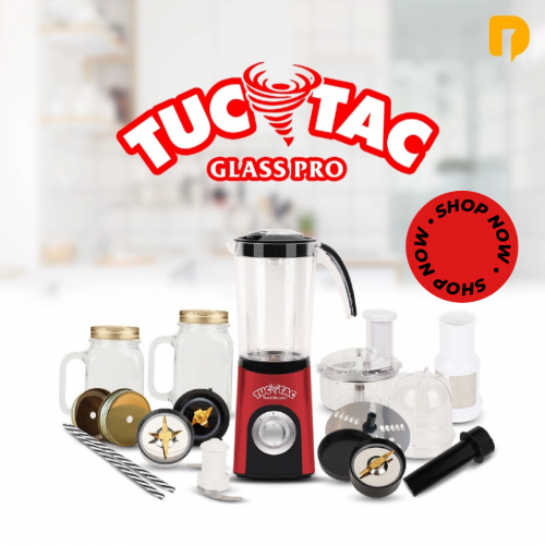 Blender 15 in 1 Tuc Tac Glass Pro