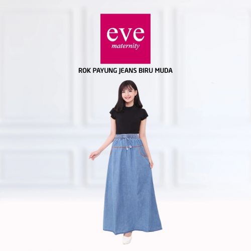 Eve Rok Payung Jeans