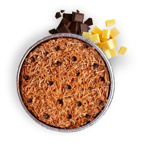 Chococheese Oatmeal Cookie Pie Possesize