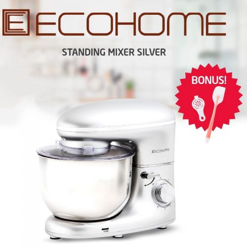 Ecohome Stand Mixer Silver