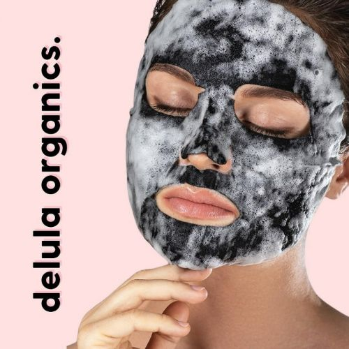 BPOM BUBBLE SHEET MASK WITH CHARCOAL
