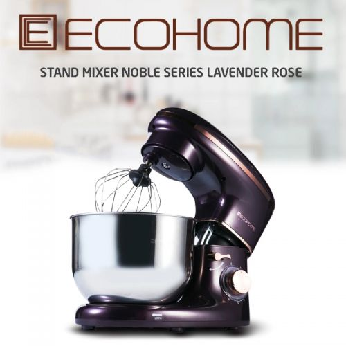 Ecohome Stand Mixer Noble Series Lavender Rose