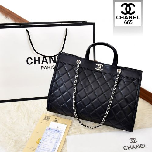 CHANEL SHOPPING TOTE BAG BUBBLE SERIES 665