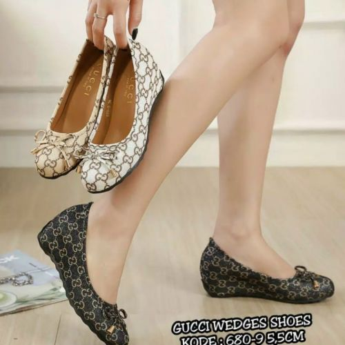 GUCCI WEDGES SHOES 680-9