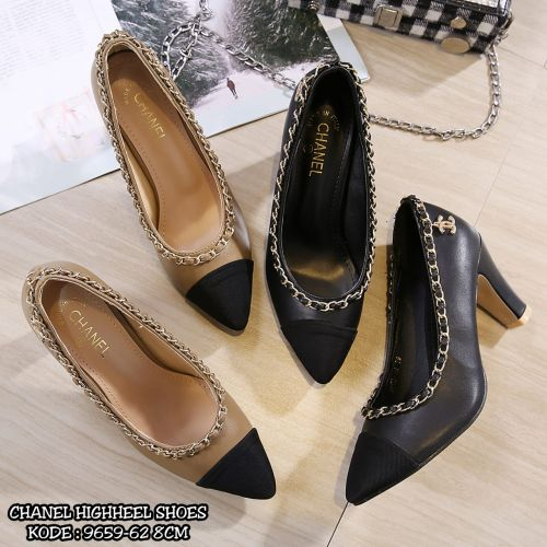 CHANEL HIGHHEEL SHOES 9659-62
