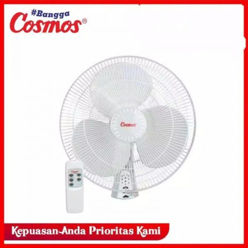 KIPAS ANGIN DINDING REMOTE  COSMOS 16WFCR