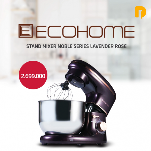 Stand Mixer Ecohome Noble Series Lavender Rose