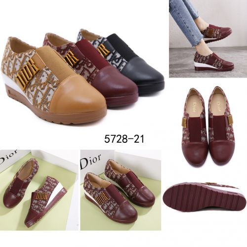 CHRISTIAN DIOR WEDGES SHOES #5728-21