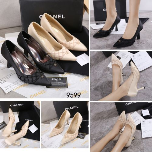 CHANEL POINTED HEELS #9599