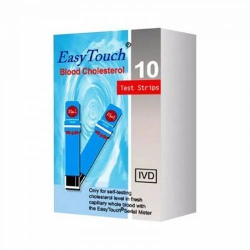 Strip Cholestrol Easy Touch isi 10 pcs