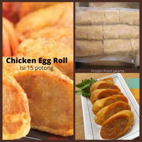 Chicken Egg Roll Frozenisi15potong, 3lenjer bsr