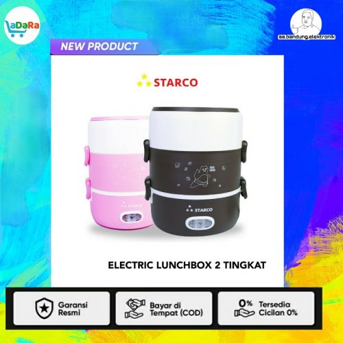 Electric Lunchbox Mini Rice Cooker  2 Tingkat